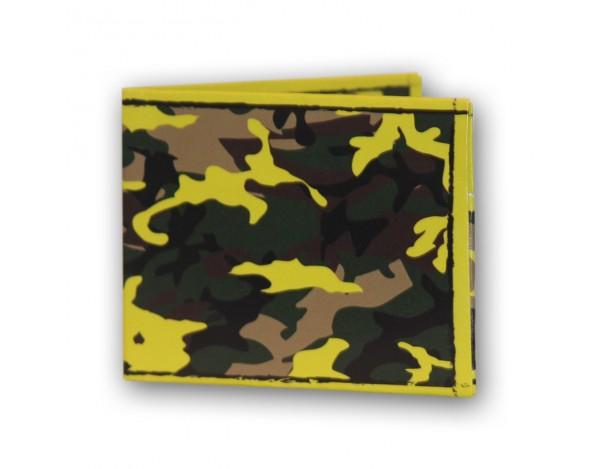 Portafoglio Fluo Camouflage LEAF