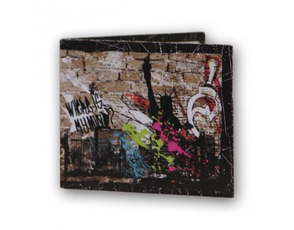 Portafoglio Street Art LEAF